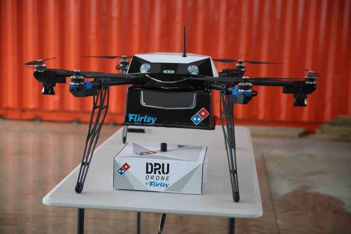 Domino's to use drones to deliver pizzas