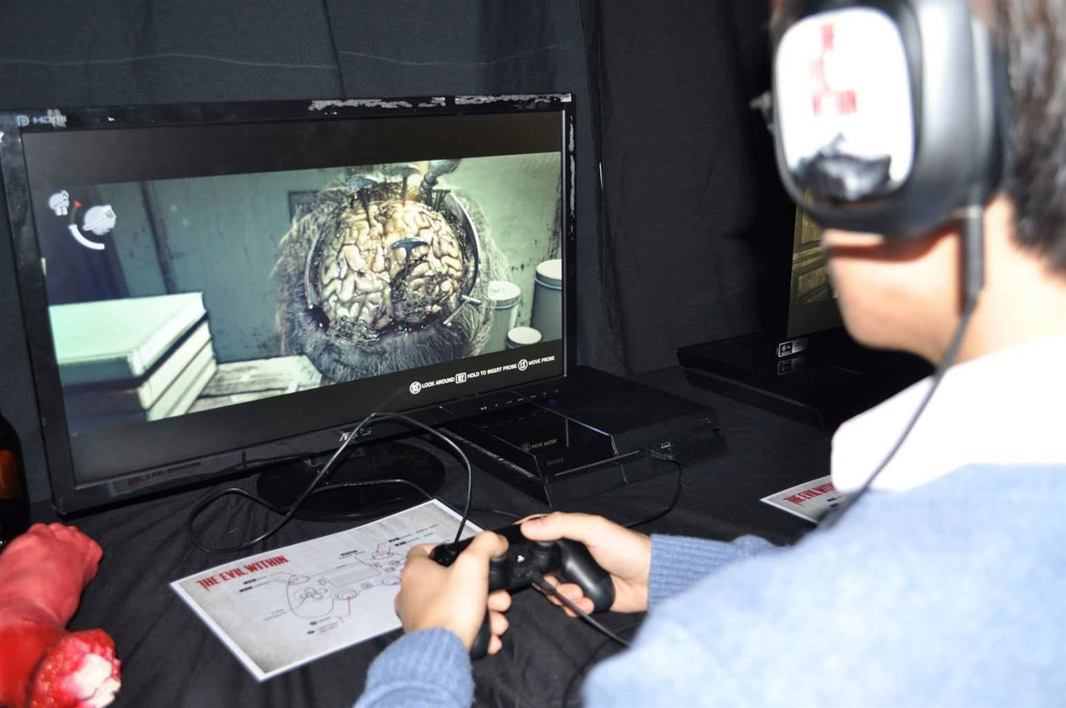 The Evil Within goes off at Power-Hyper-Atomic-PC HQ!