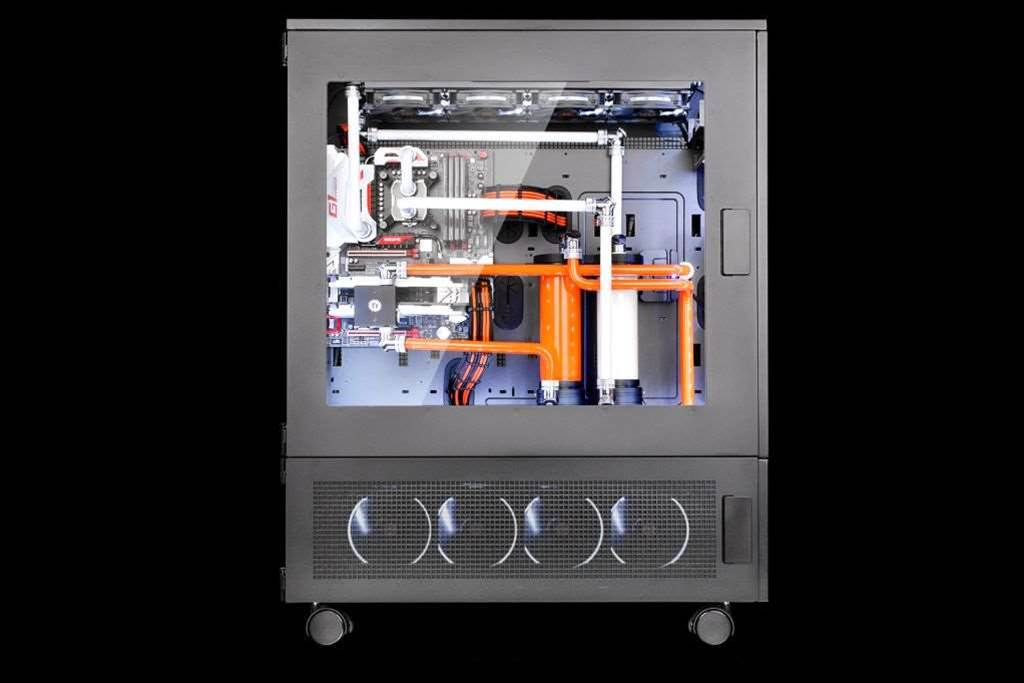 Thermaltake reveals two-part Core WP100 super tower chassis