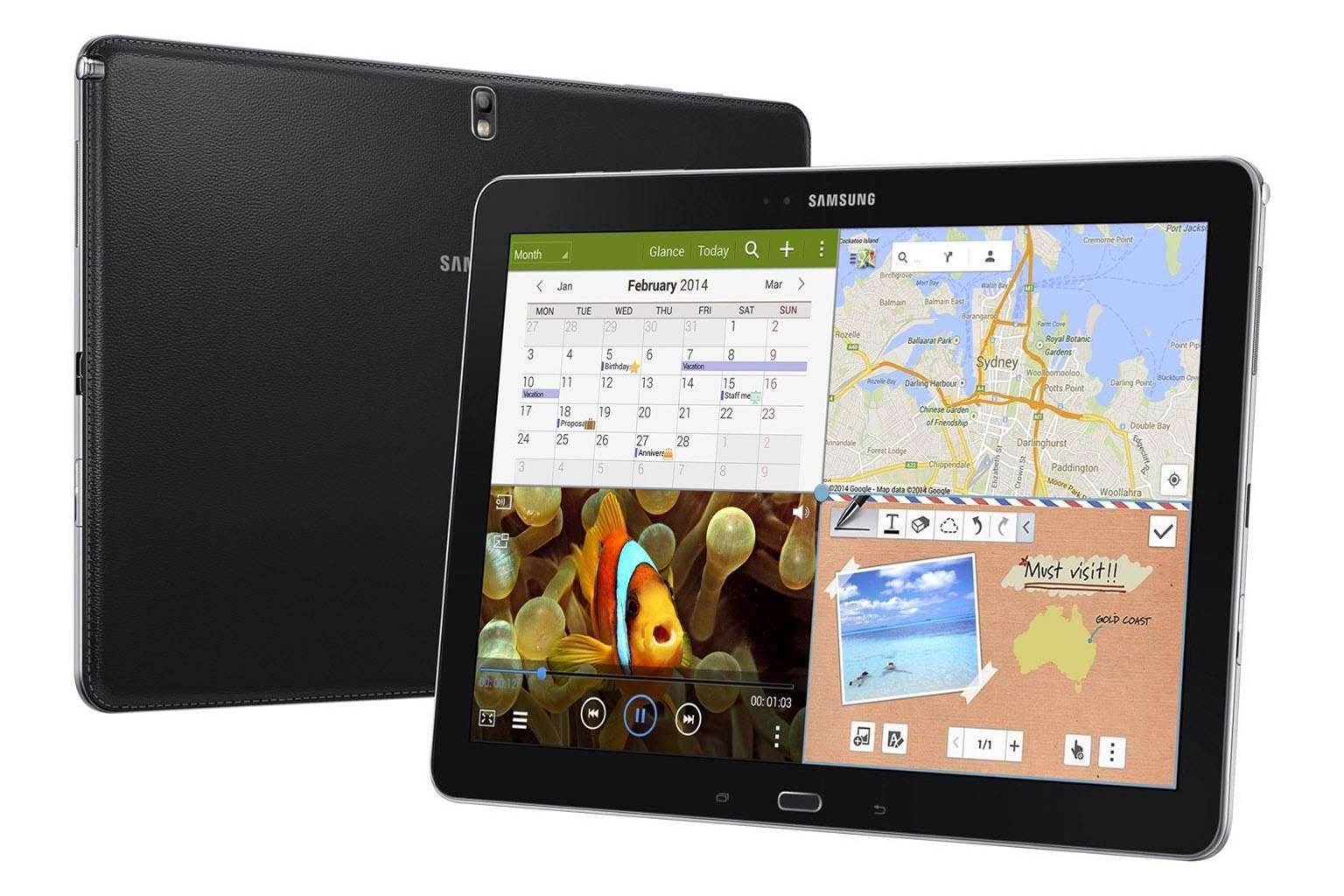Samsung Galaxy NotePro and TabPRO pricing and availability announced