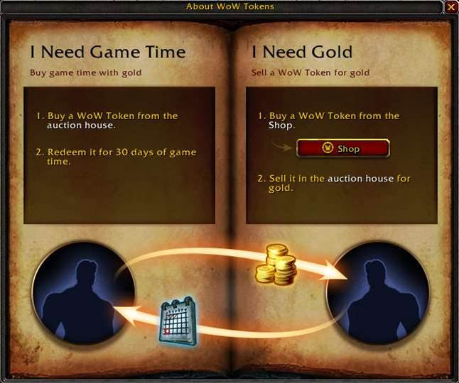 Blizzard introduces WoW Tokens for in-game gold-trading