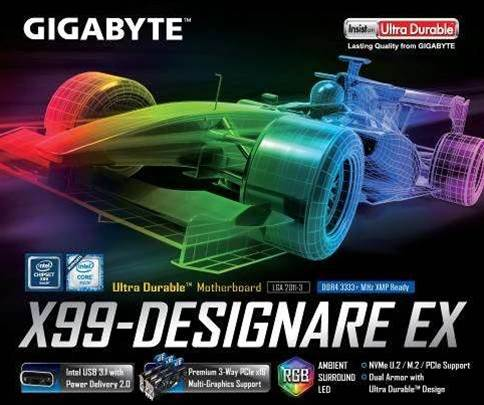 Gigabyte unveils two new X99 motherboard product lines for gamers and designers