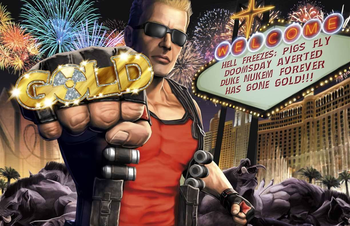 It's official - we're already sick of Duke Nukem Forever