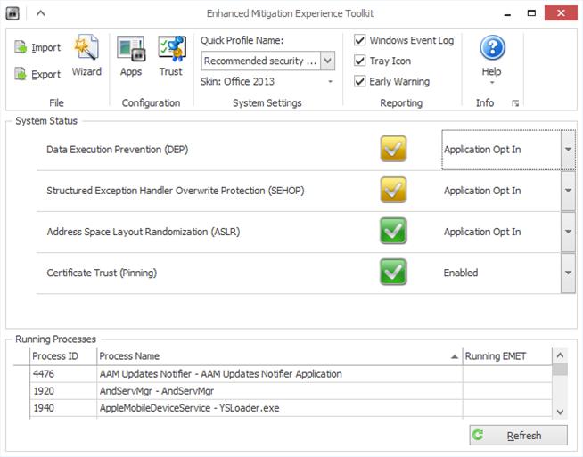 "Microsoft EMET 5.2 blocks ""VBScript God Mode"""