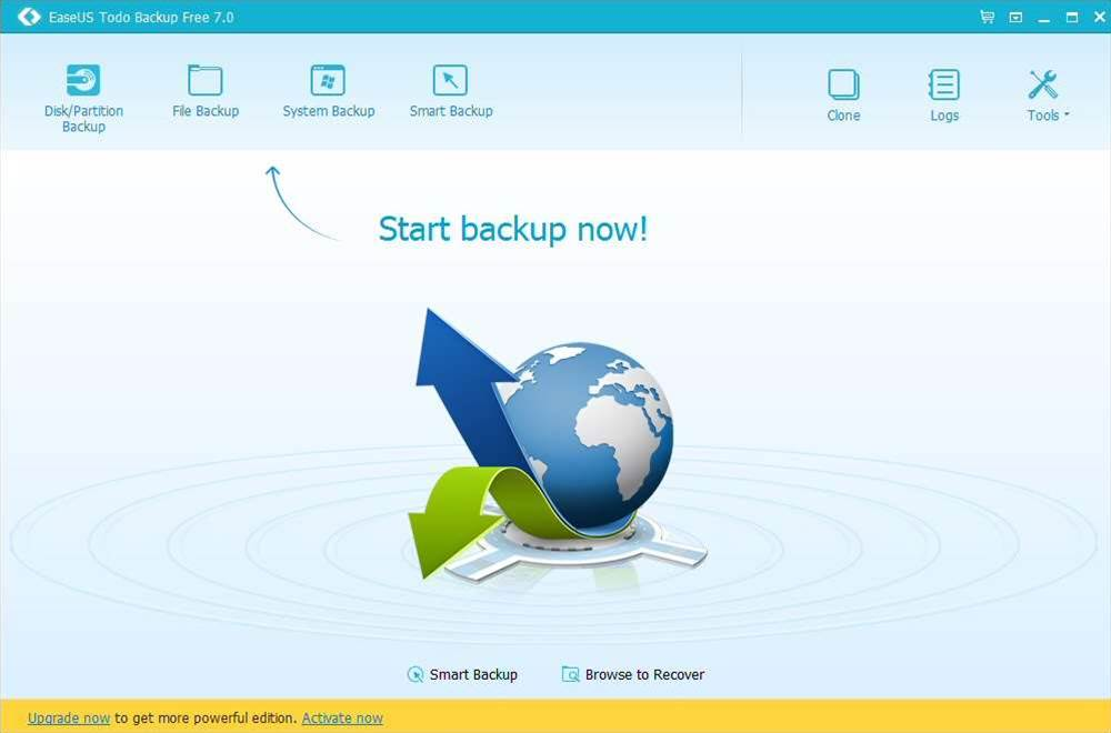 EaseUS Todo Backup Free 7.0 out now