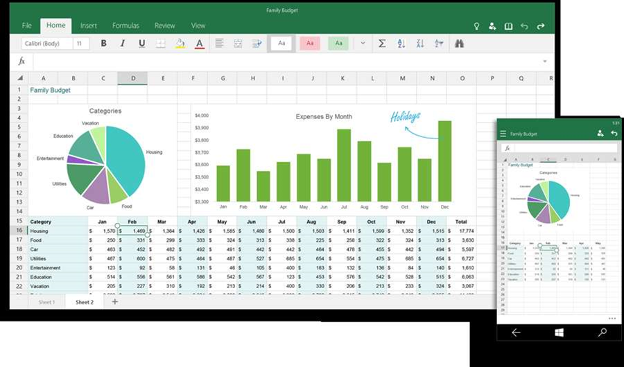 Microsoft previews touch-enabled Office for Windows 10