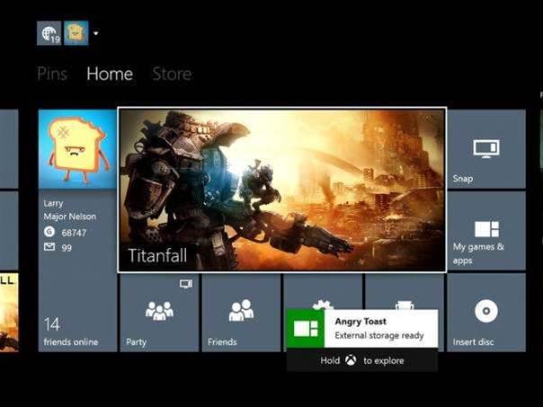 Xbox One June update will bring external storage support