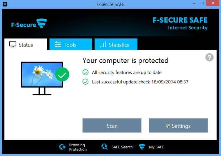 F-Secure SAFE 2015 protects desktops, tablets and phones