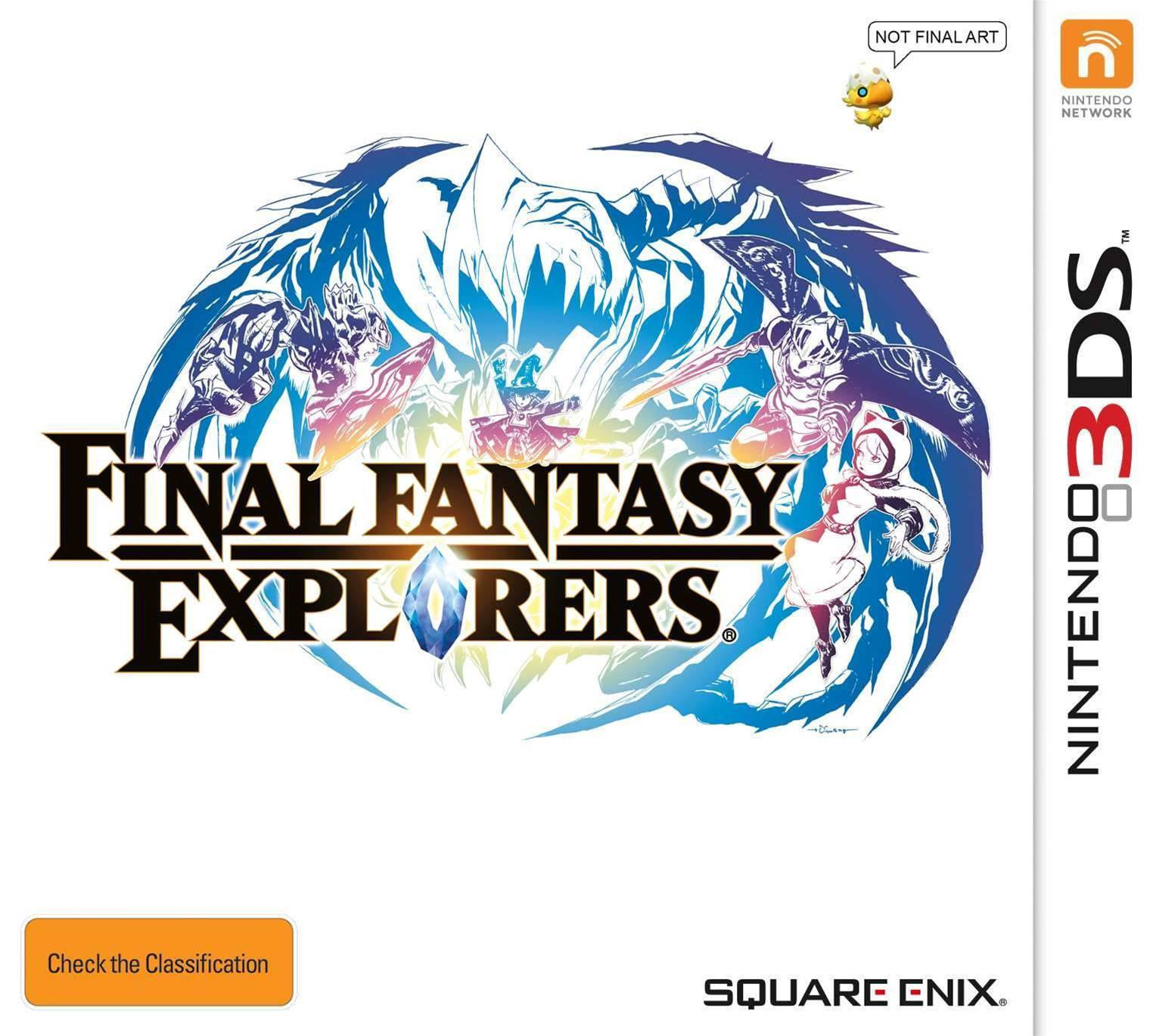 Final Fantasy Explorers announced for the 3DS