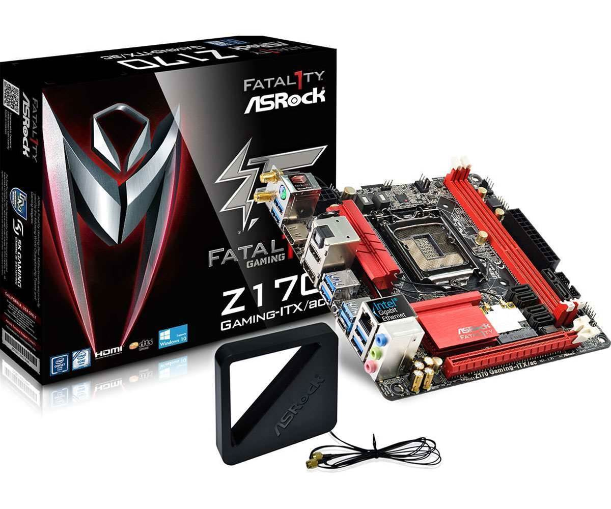 Asrock releases small but perfectly formed Z170 Gaming-ITX/ac mobo