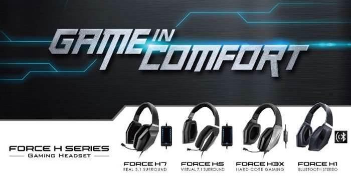 GIGABYTE releases new gaming headphone range
