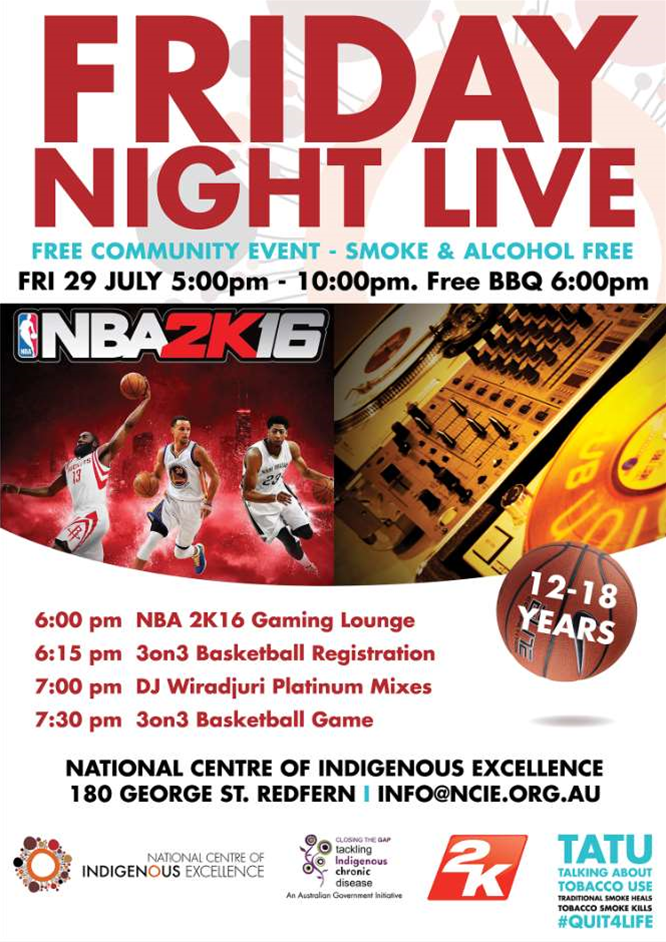 2K Games announces sponsorship of National Centre for Indigenous Excellence sports program