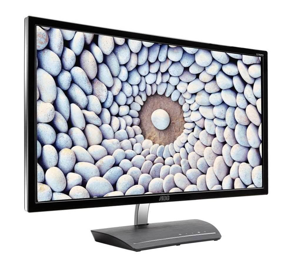 AOC reveals new 83 series curved monitors