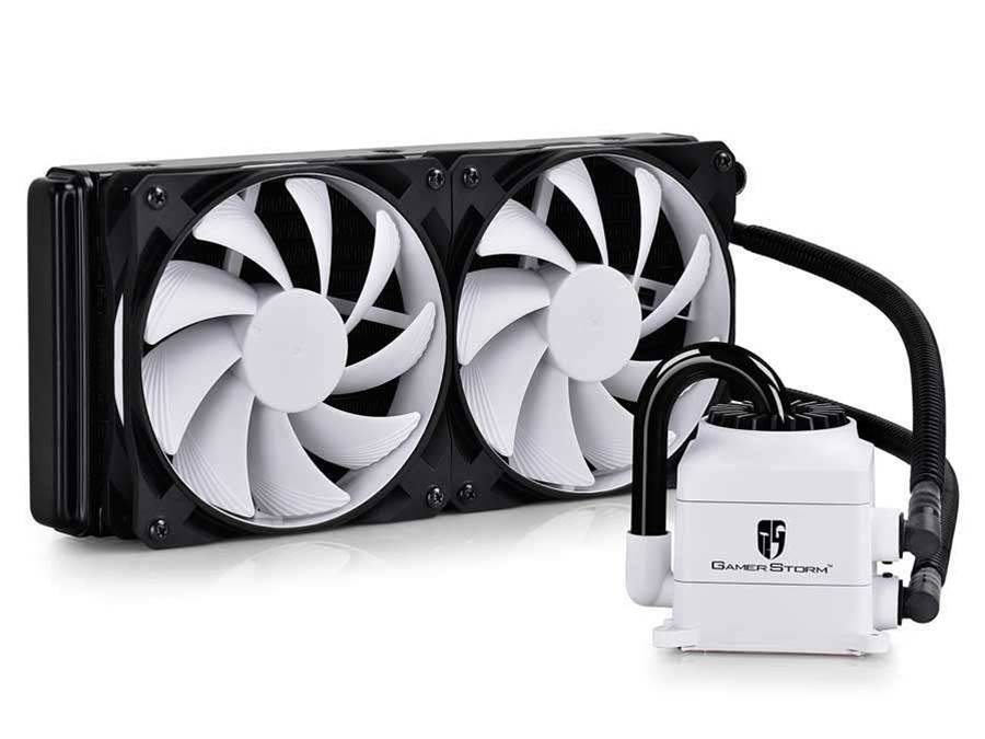 Deepcool announces CAPTAIN 240 WHITE CPU water cooling kit