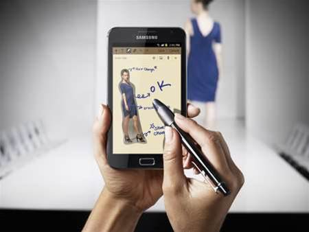 Samsung releases Galaxy Note to Australians