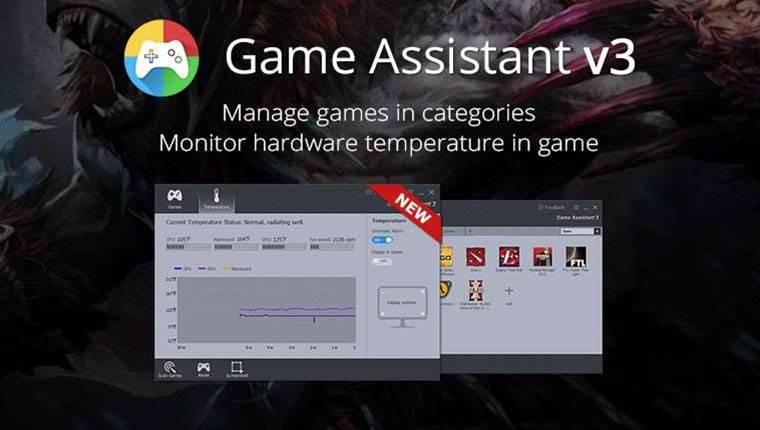 Game Assistant 3 to enhance PC performance