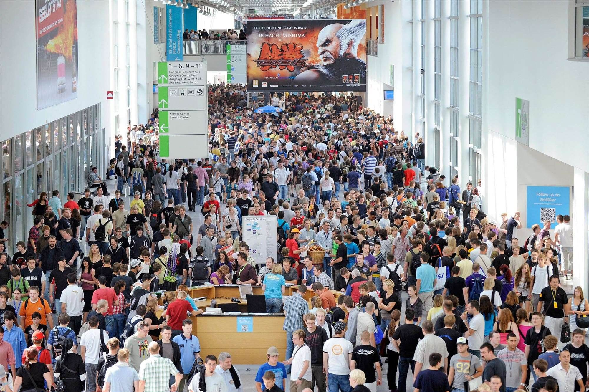 Gamescom loses three publishers for its 2012 show