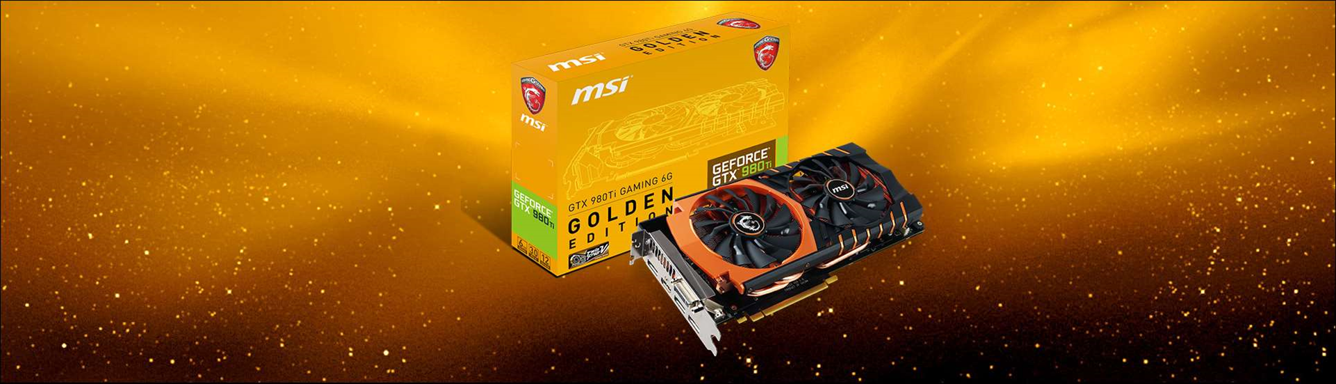 New MSI GTX 980Ti Gaming 6G Golden Edition is super-cool