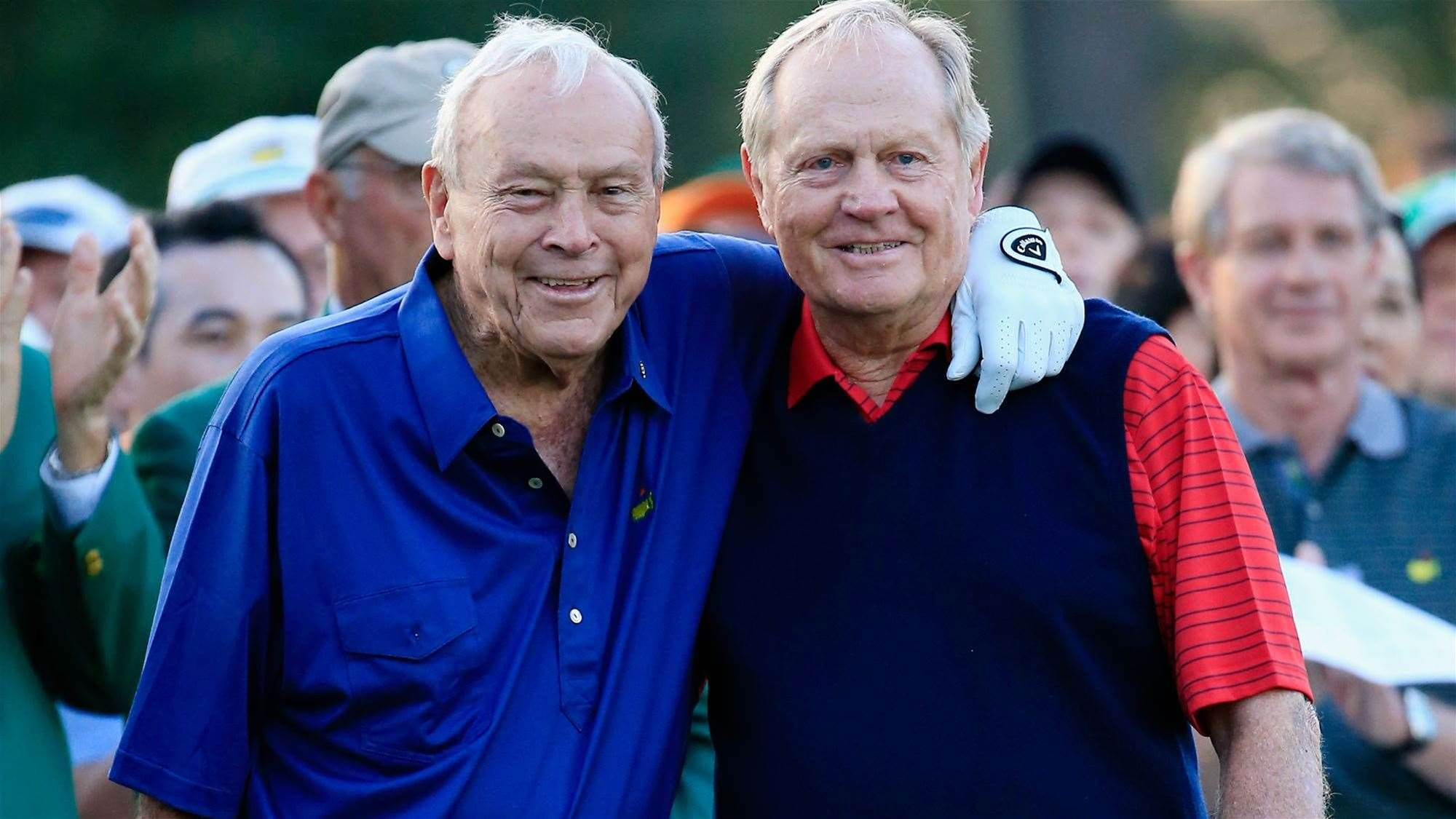 """Nicklaus: Arnold """"was the king of our sport and always will be."""""""