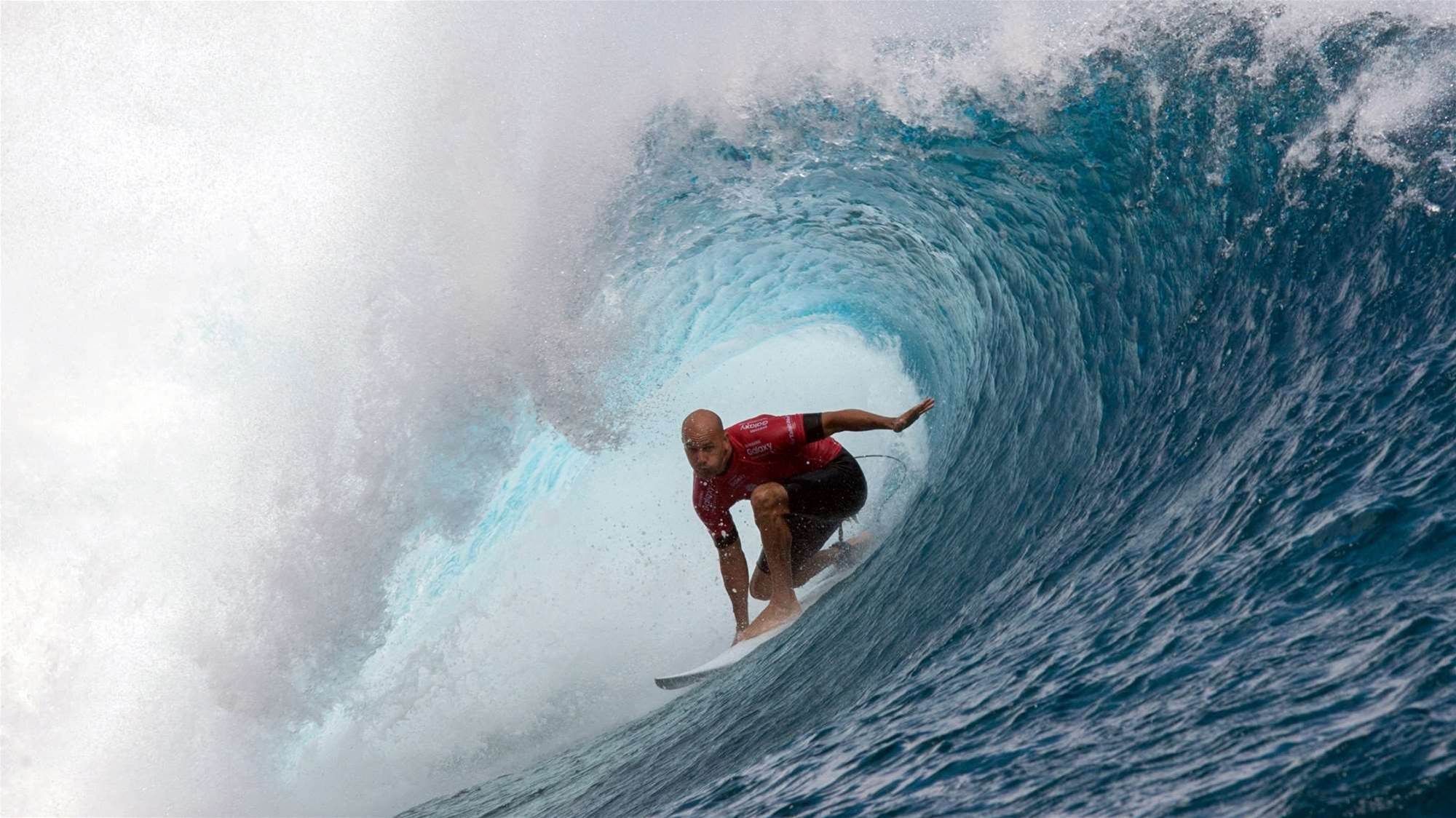 Slater unstoppable in Tahiti