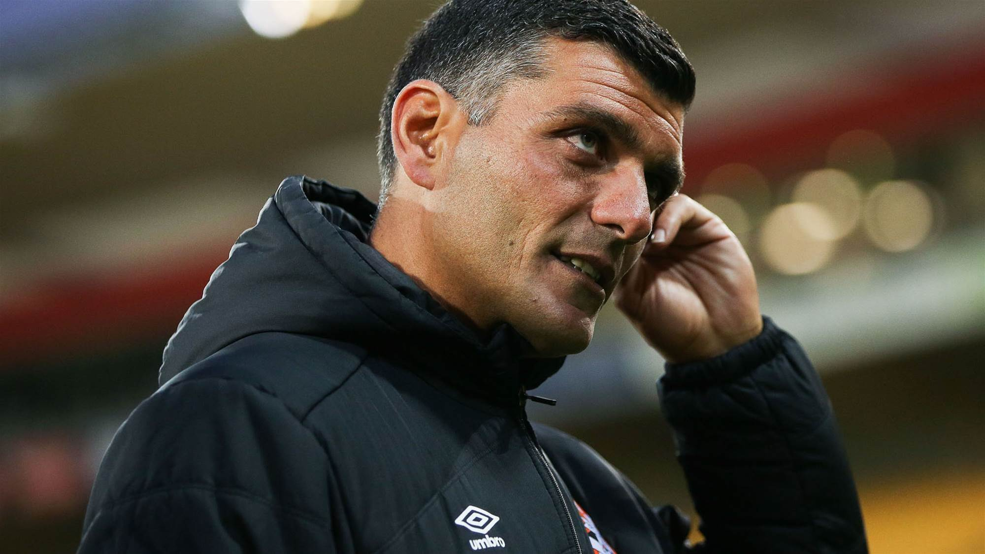 Aloisi demanding more than good football