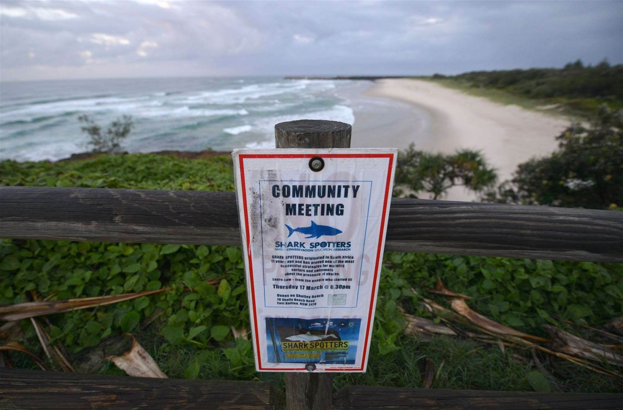 Breaking: Another Ballina Shark Attack