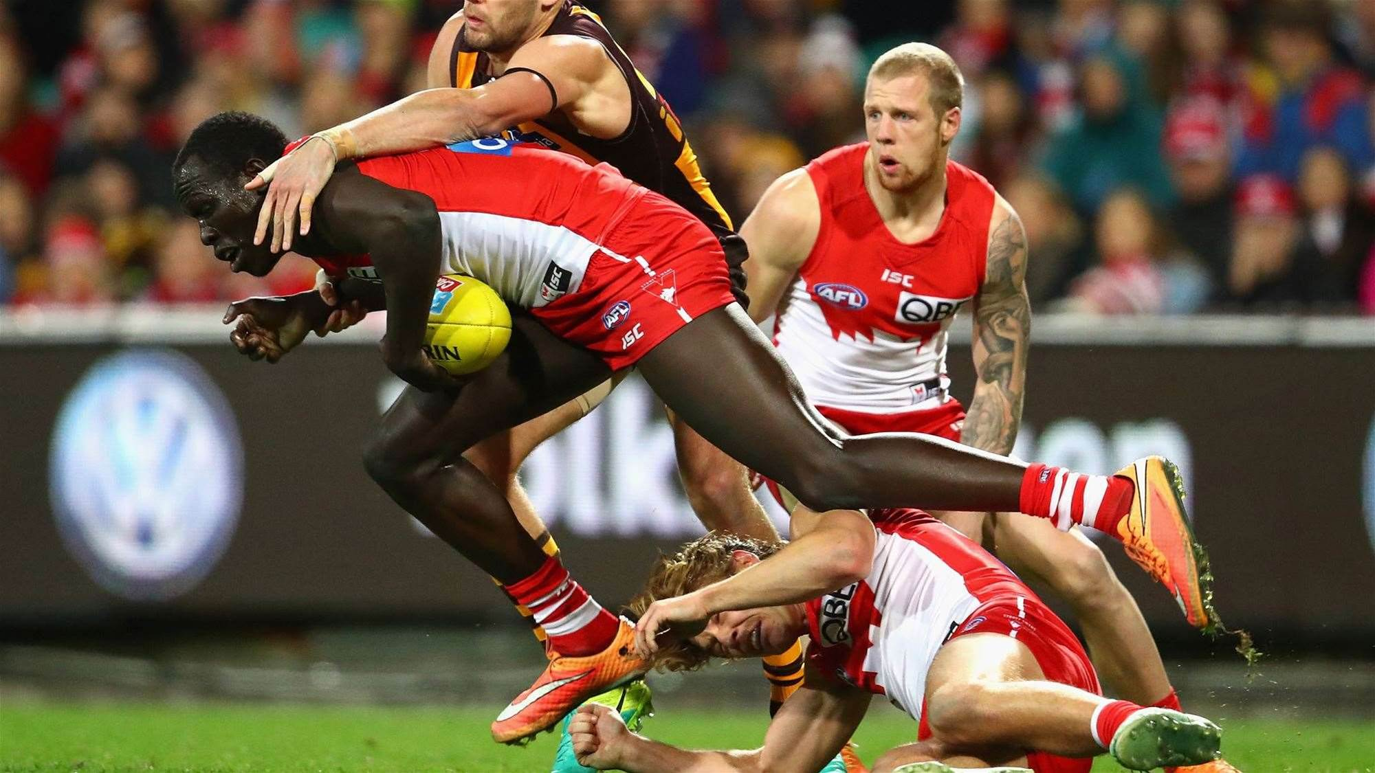Swans lose star for grand final