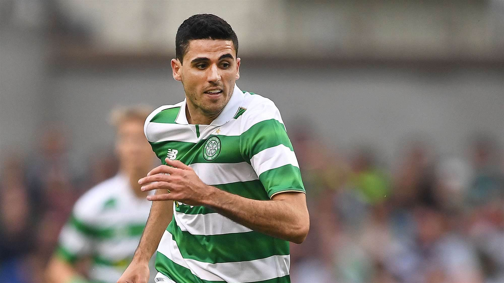 Rogic celebrates new deal in style