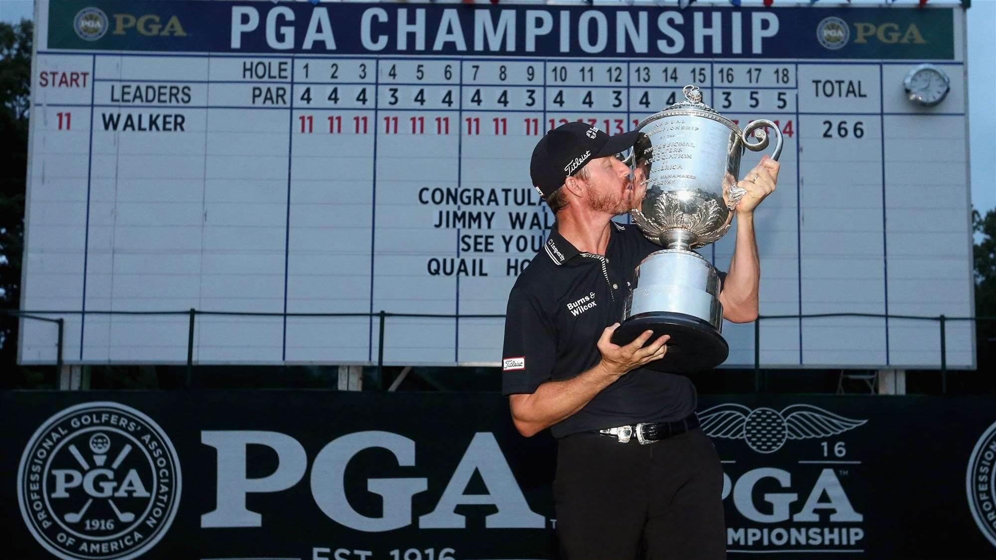 HUGGAN: First-time major winners … get used to it