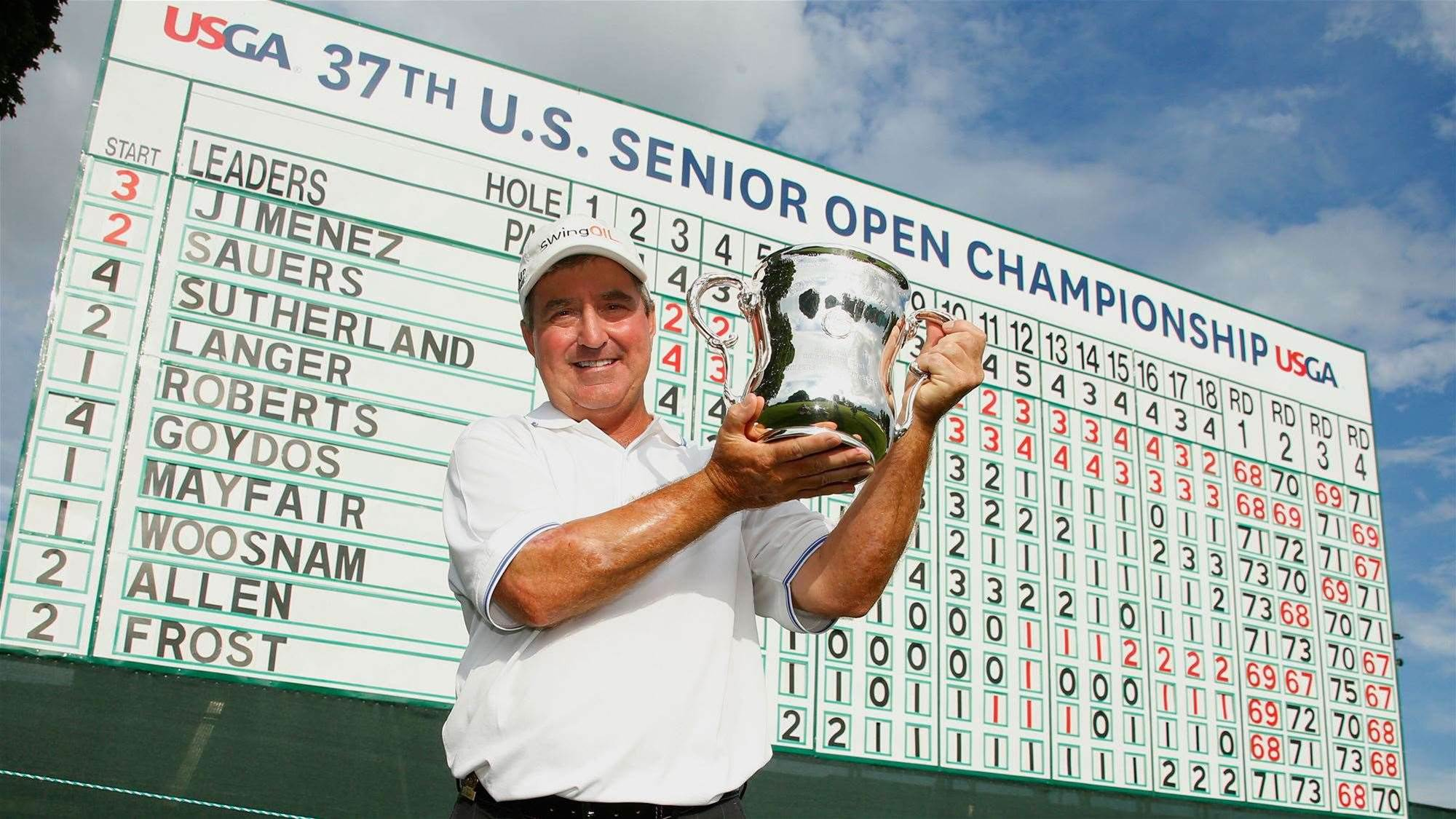 Sauers beats rare illness to win U.S Senior Open