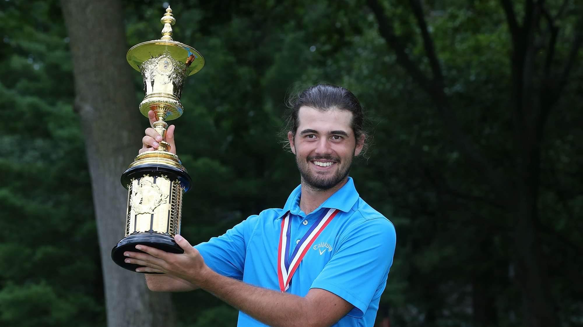 Aussie Curtis Luck wins prestigious U.S Amateur