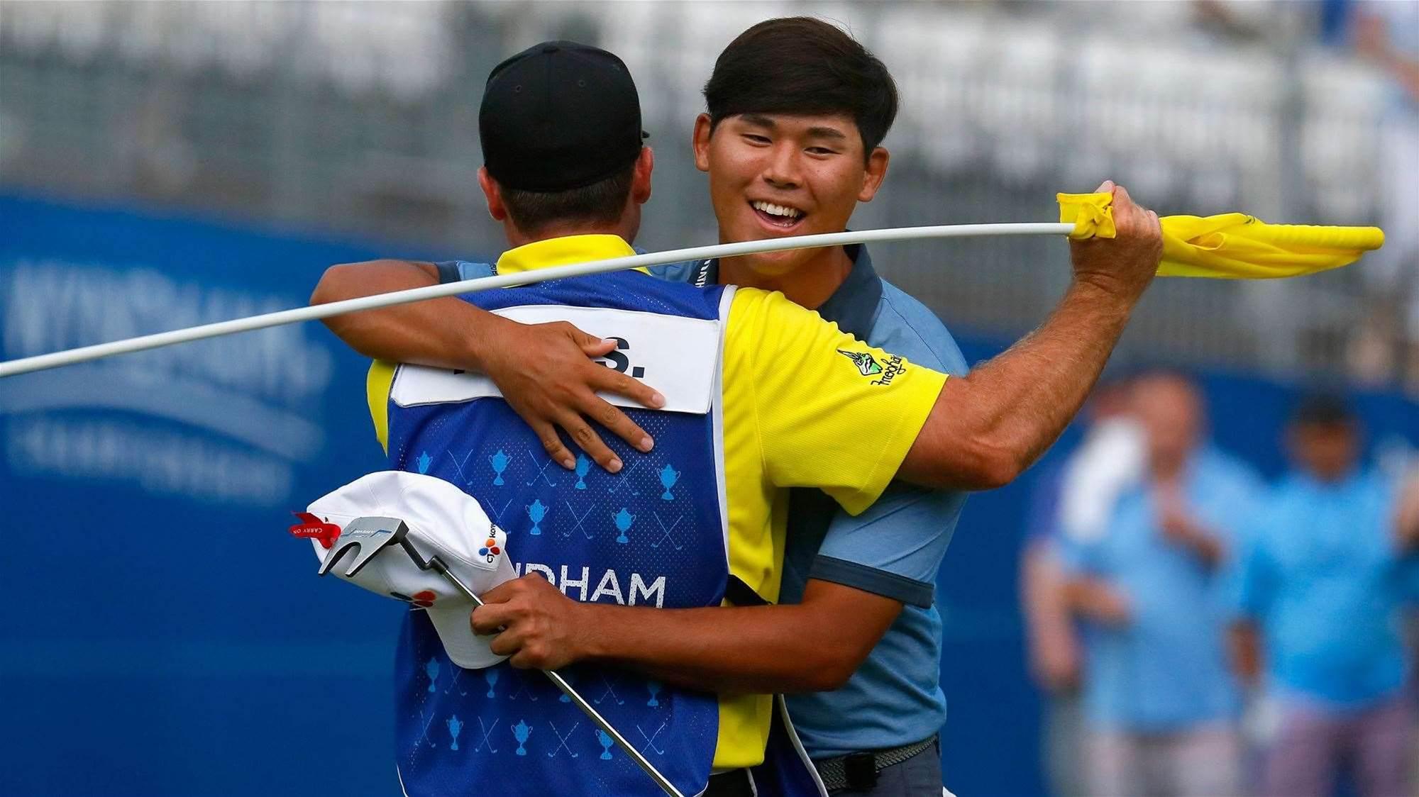 Kim completes record-breaking PGA Tour win
