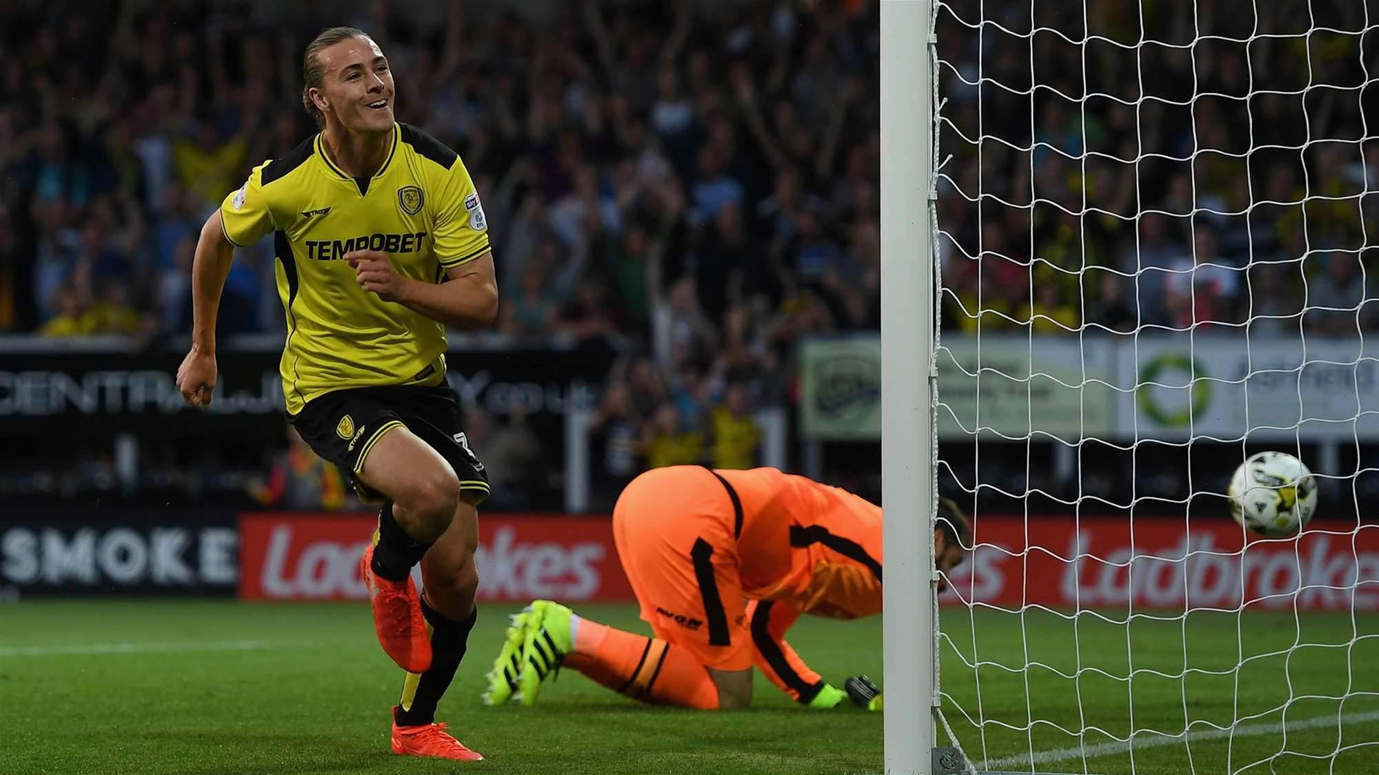 Irvine making mark in English Championship