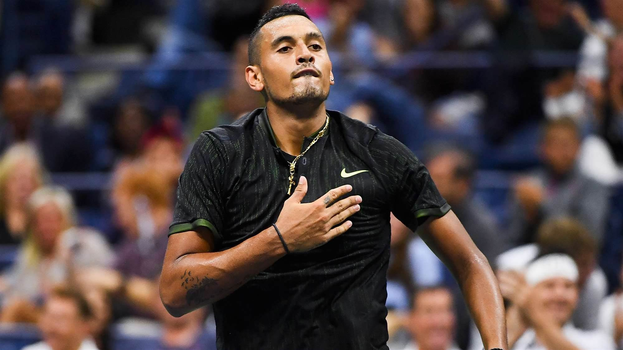 Kyrgios has a huge dig at coach