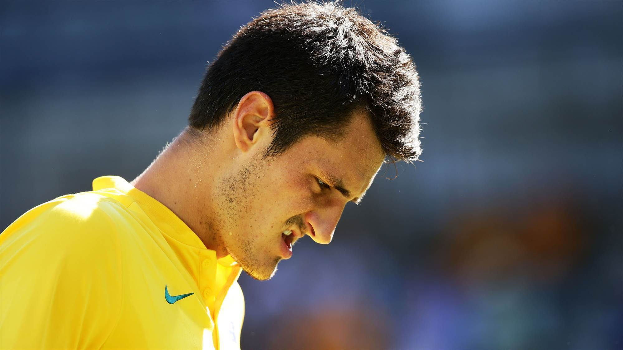 """Tomic: """"I'm not the brightest"""""""