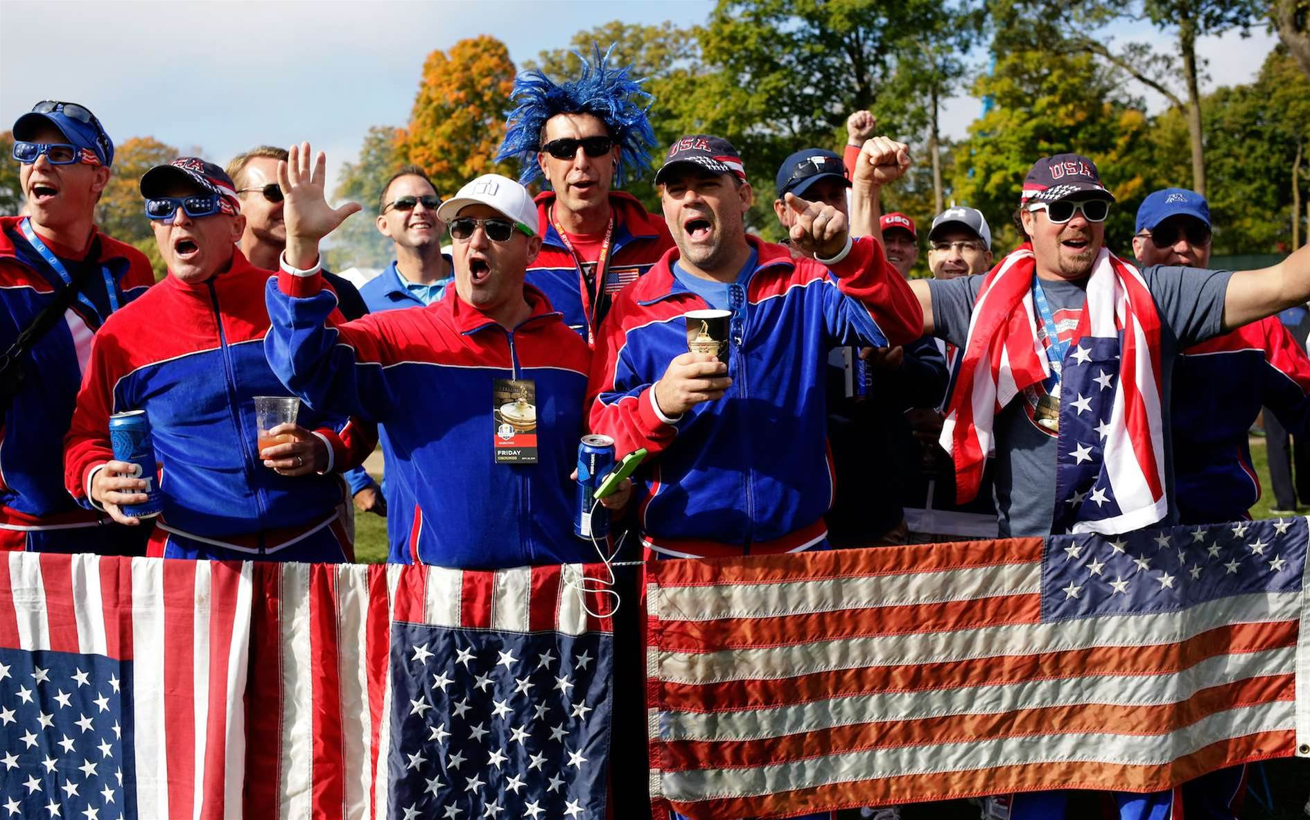 RYDER CUP: Booze-fuelled, abusive fans cast shadow over U.S win