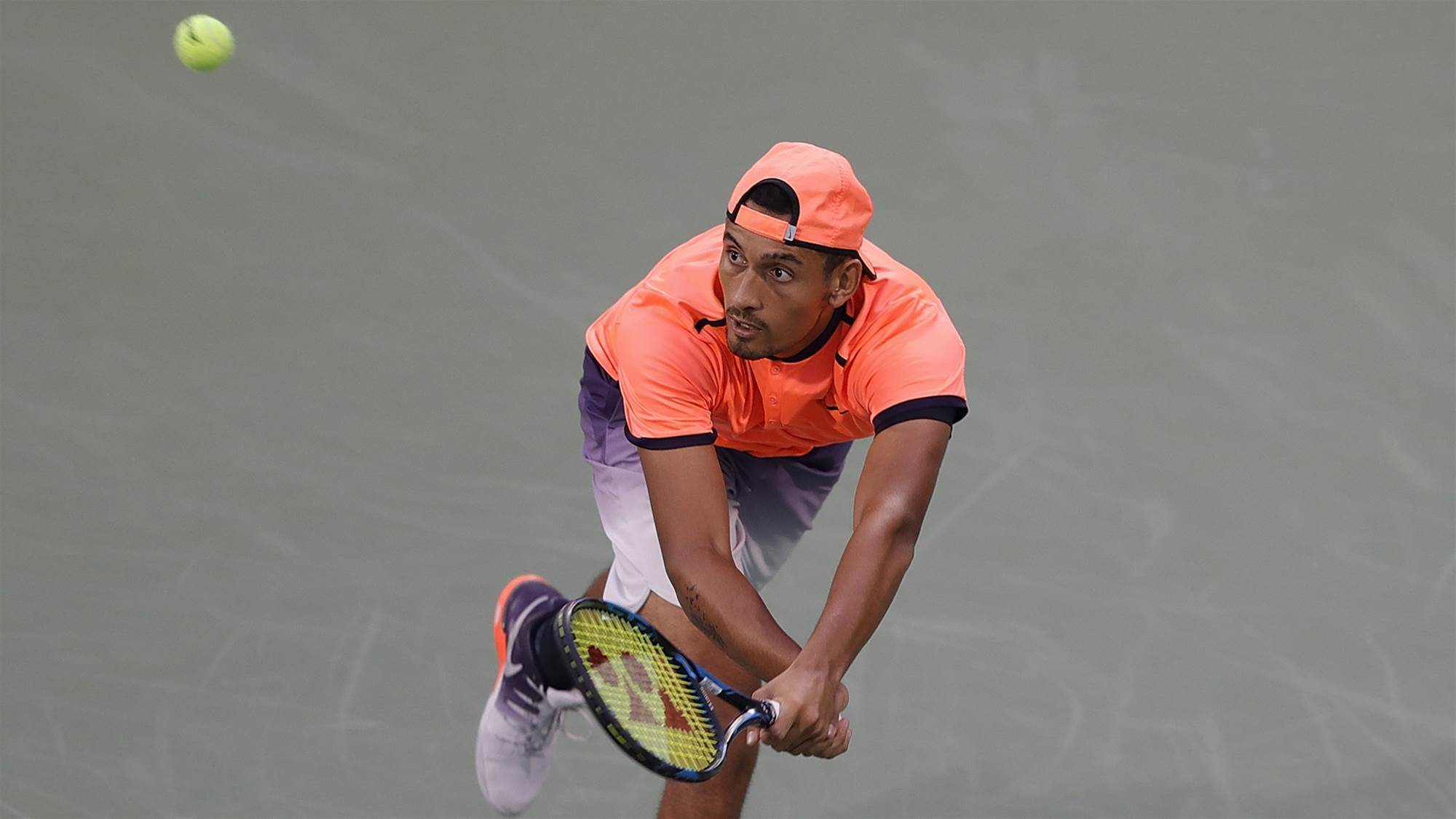 Kyrgios driven by wins not rankings