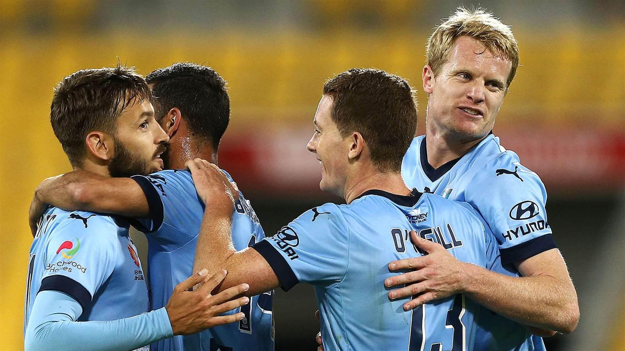 Vukovic lauds 'smash and grab' Sydney