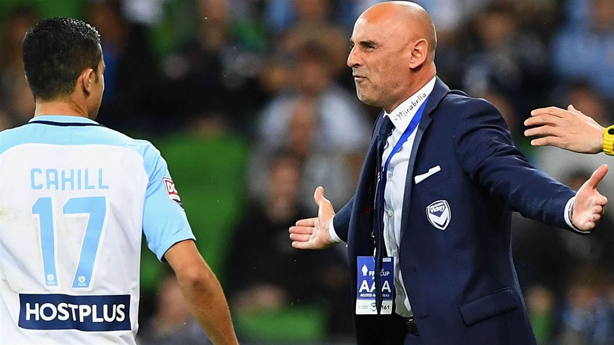 Muscat cited by FFA over post-match comments