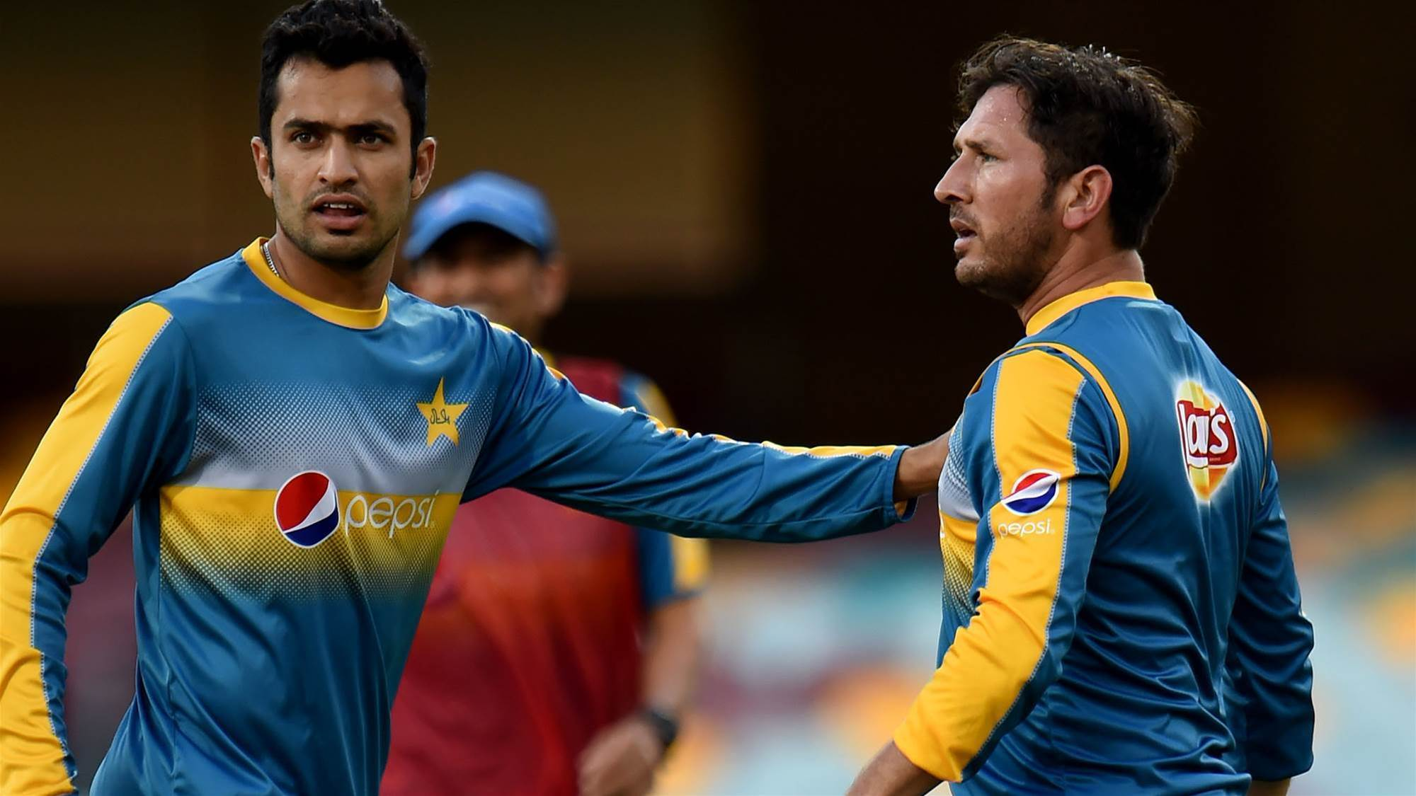 Pakistan players involved in training bust-up