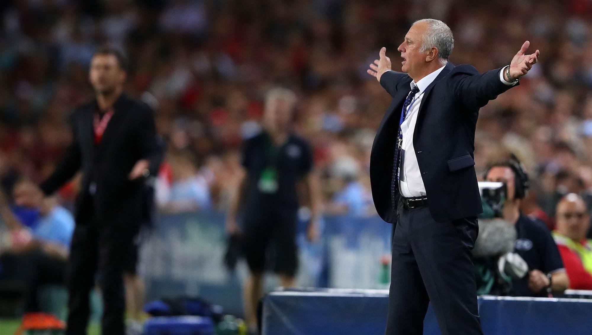 Arnie praises derby rivals