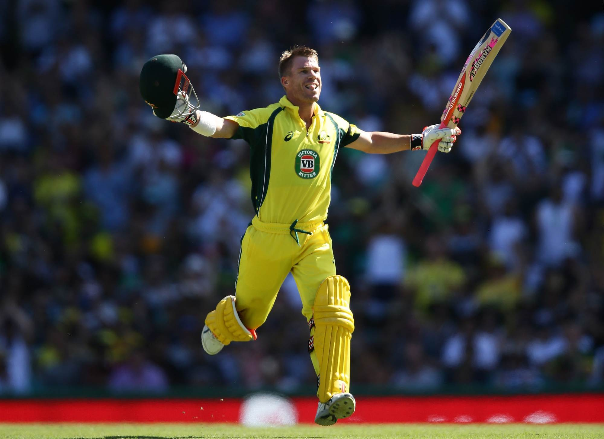 Warner out of Chappell-Hadlee series