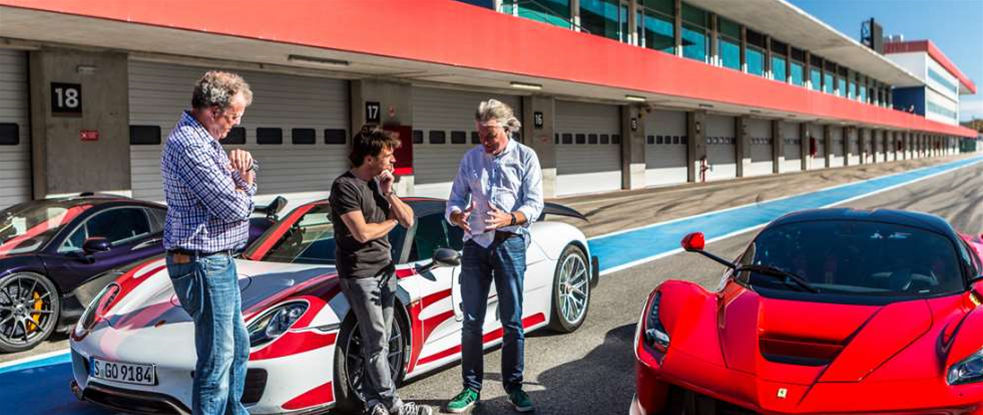 Amazon's new Grand Tour series could be the next illegal download victim