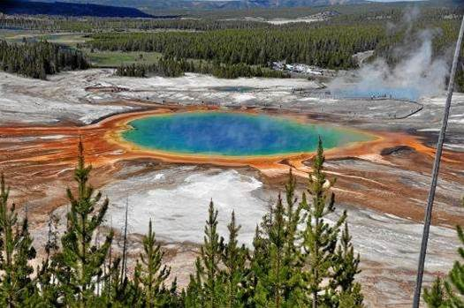 Drone Drowns In Yellowstone Hot Spring