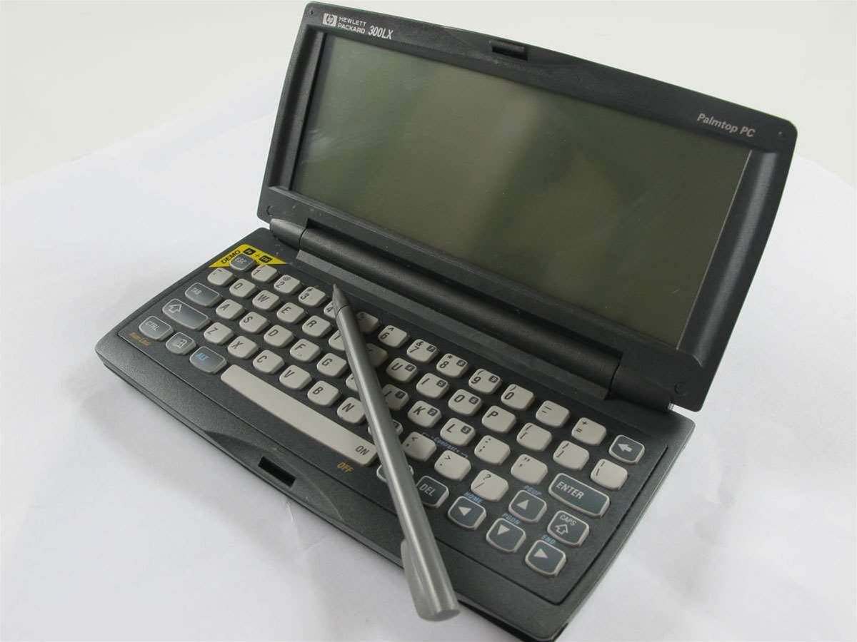 Paleo-Tech: The HP 300LX Palmtop PC