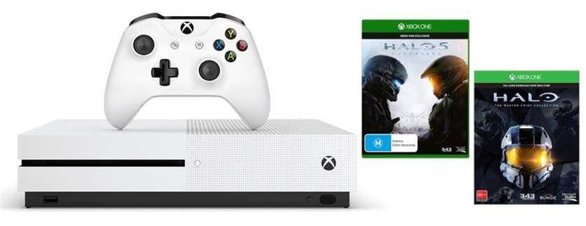 Microsoft announces Xbox One S Halo bundles