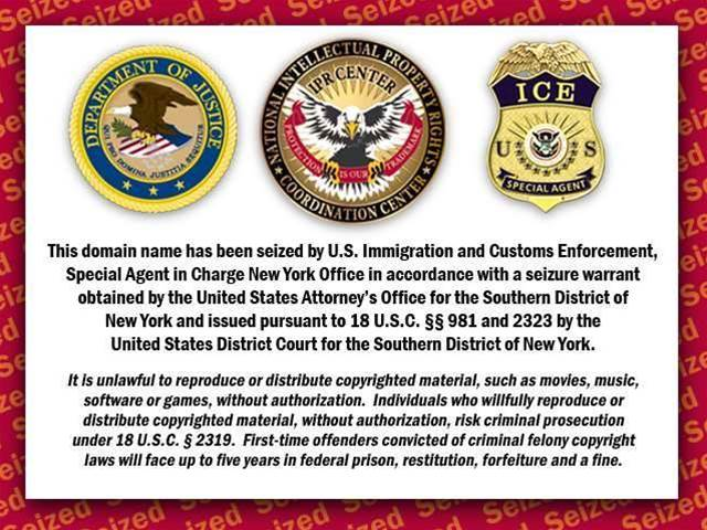 Euro and US police seize 292 domain names