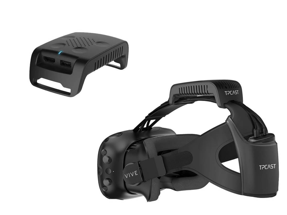 HTC Vive's wireless TPCast peripheral gets a release date