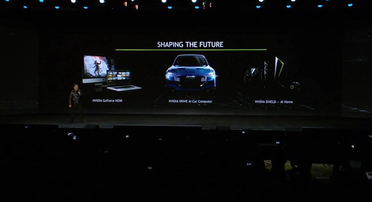 All the news from Nvidia's CES 2017 keynote speech