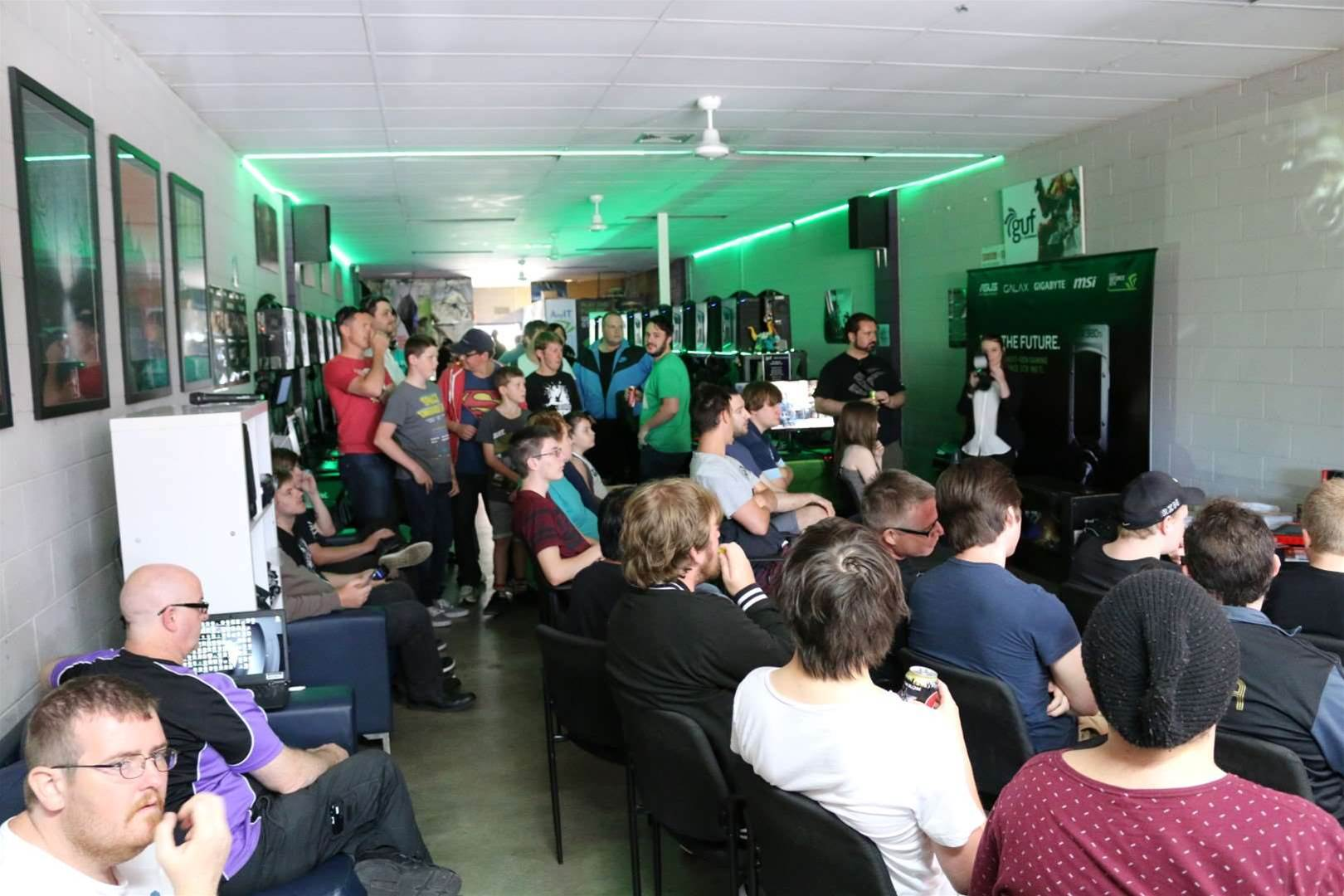 Nvidia puts on a party for its loyal Aussie NFans